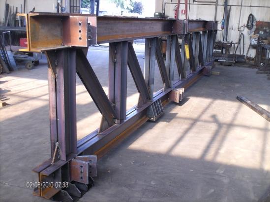 Particolare di carpenteria pesante