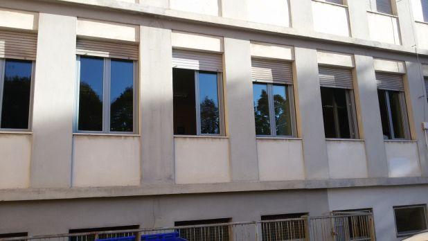Sostituzione infissi presso Istituto Casali